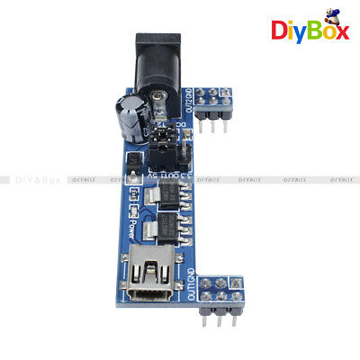Mini Usb Mb102 Breadboard Power Supply Module 3.3v 5v Solderless Arduino