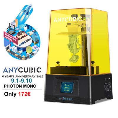 2021 New Anycubic Photon Mono Stampante 3D Alta velocità UV Resina 130*80*165mm
