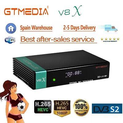 Gtmedia V8X Upgrade From V8 Nova DVB S2 Satellite Receiver built-in WIFI...