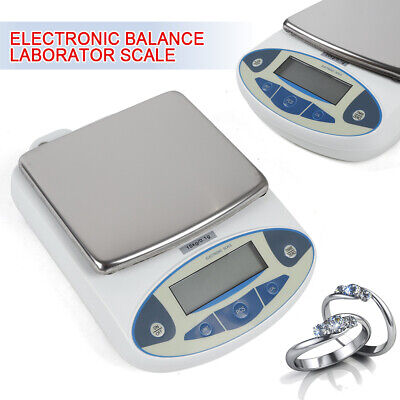 Analytical Balance1520kgx0.1g Lab Precision Electronic Scale Digital Lcd Screen