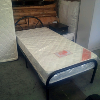 Factory direct to public brand new single metal bed