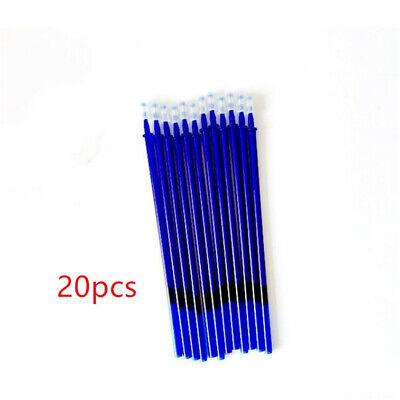 20pcs Office Gel Pen Erasable Refill Rod Magic Pen Refill 0.5mm Blue Ink 2019