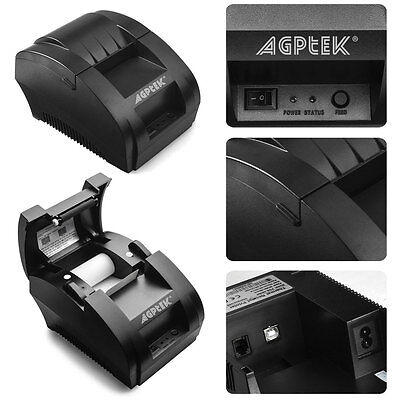 Escpos Thermal Receipt Printer 58mm Usb Ethernet With Print Commands Us Stock