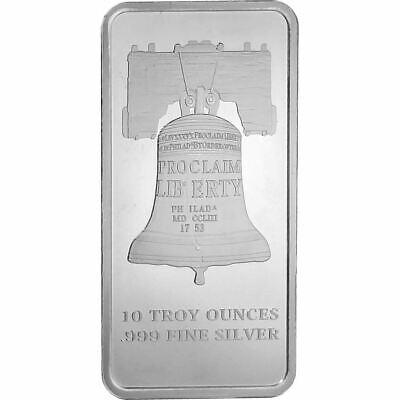 SD Bullion Proclaim Liberty 10 oz Silver Bar