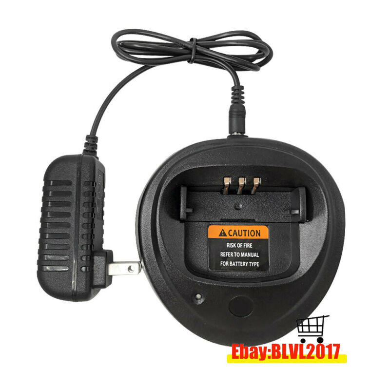 Battery Charger For Motorola  PR400 CP200 CP200D CP200XLS EP450 DP1400 Radio