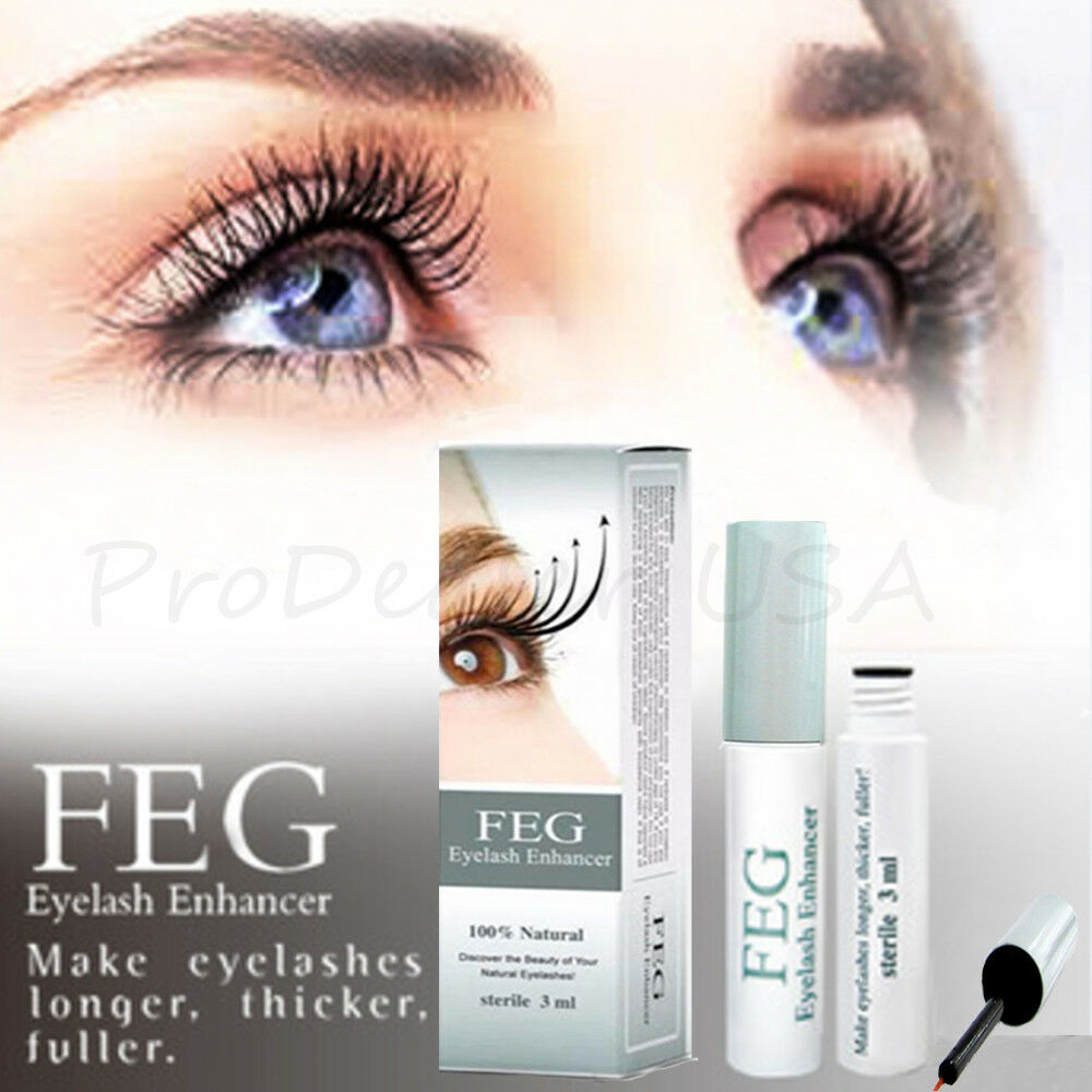 FEG Eyelash Enhancer Rapid Growth Serum ~100% Natural~USA ~Super Fast Shipping!