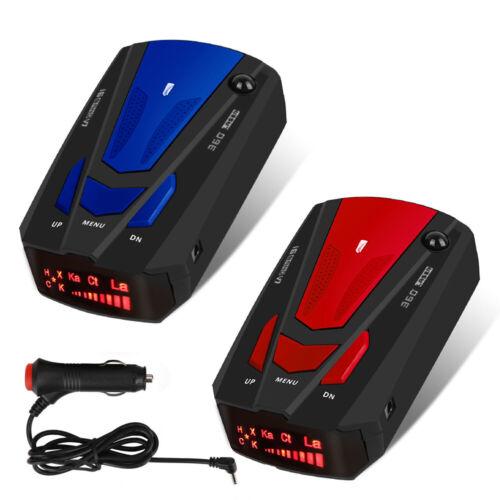 Car 16 Band 360 Degree V7gps Camera Laser Police Safe Radar Detector Voice Alert