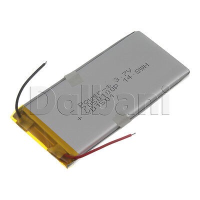 New 3.7V 4000mAh Internal Li-ion Polymer Built-in Battery 100x49x7mm 29-16-1070