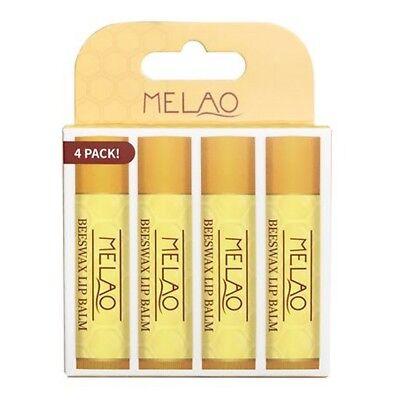 Best Moisturising Lip Balm Chapstick 100% Natural Beeswax Antioxidant Vitamin (Best Moisturising Lip Balm)
