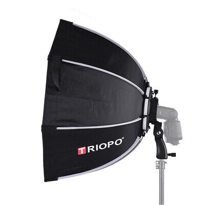 TRIOPO 65cm Foldable 8-Pole Octagon Softbox w/oft Cloth Handle for Godox Yongnuo
