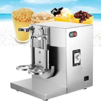 Milk Tea Shaker Machine Double Frame Bubble Boba Beverage Shaking Mixer 400rpm