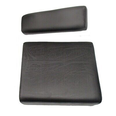 Black Backrest Seat Cushion Set Fits John Deere M Mt 420 430 435
