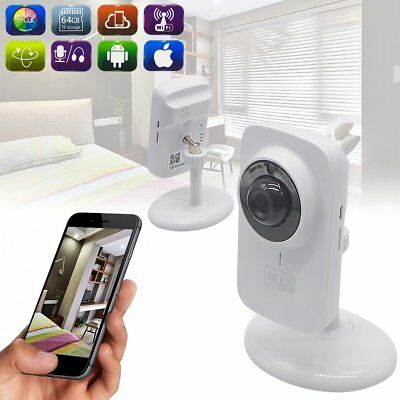 720P WiFi Wireless IP CCTV Network Security Camera Night Vision Pet Dog Indoor