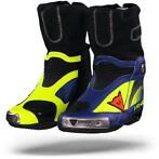 DAINESE R AXIAL PRO IN REPLICA D1 FLUO GEEL YAMAHA BLAUW