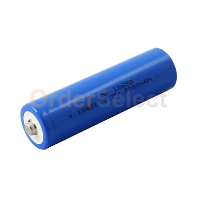 18650 3000mAh 3.7v Rechargeable Lithium Battery for Laser So