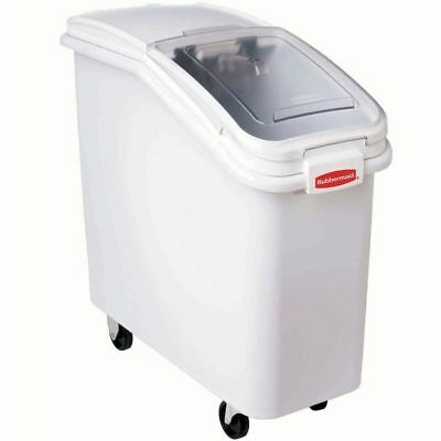 Rubbermaid 9f7700clr Prosave 21 Gal Clear Plastic Ingredient Bin Lid - 29
