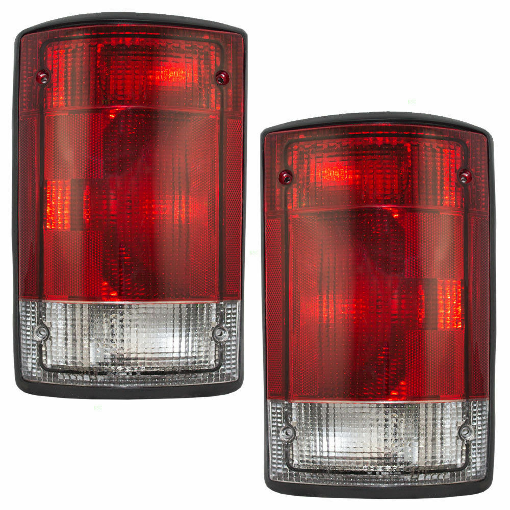 REXHALL ANTHEM 1999 2000 2001 TAIL LAMP LIGHT TAILLIGHTS REAR W/GASKETS RV PAIR