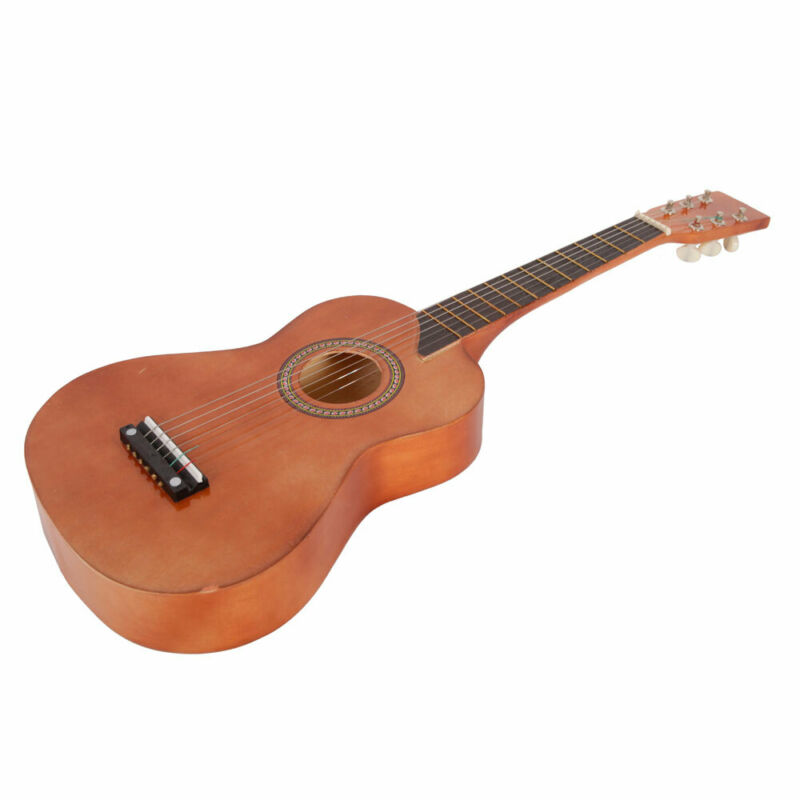 """25"""" Acoustic Guitar with Plectrum and Pick String Wood Cutaway for Beginner"""