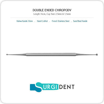 Chiropody Beauty Nail Curette Cleaning Podiatry Care Hand Tool
