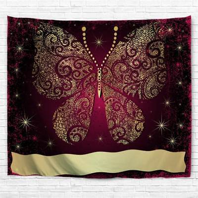 Butterfly Tapestry Wall Hanging - Mandala Butterfly Print Tapestry Wall Hanging Decorative Tapestry Art Bedspread