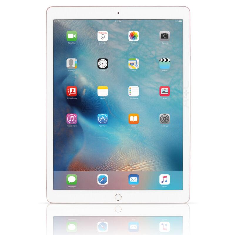 """Apple iPad Pro 1st Gen 128GB 12.9"""" WiFi 4G Cellular Unlocked All Carriers Silver"""