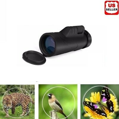 Day Night Vision 40X60 HD Optical Monocular Hunting Camping Hiking Telescope New