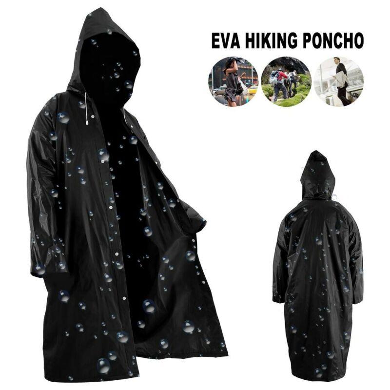 Rain Coat Weather Multi-Use Waterproof Poncho Army poncho bl