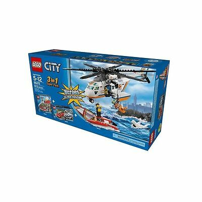 66475 SUPER PACK heroes lego NEW city town SEALED legos set 60013 60003 60007