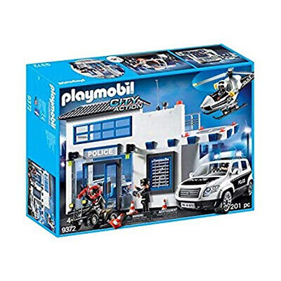 PLAYMOBIL Police Station Building Set	- 9372