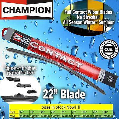 NEW Champion Contact 22 Inch All Season Full Contact Windshield Wiper Blade