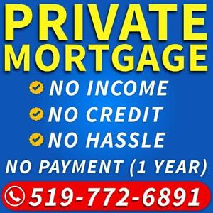 Private Mortgage Ontario - Private Lender - 2nd Mortgage / Second Mortgage - Bad Credit Mortgage - 519-772-6891