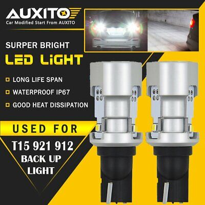 AUXITO 921 T15 LED Reverse Backup Lights for Toyota Camry Corolla Tacoma 4Runner 2002 Toyota Corolla Backup