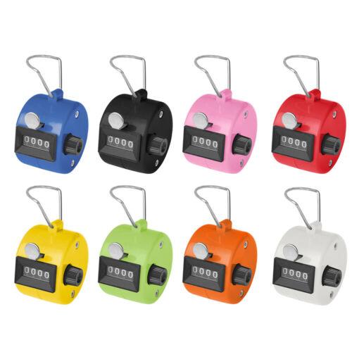 TOPTIE ABS Hand Tally Counter, 4-Digit Mechanical Golf Clicker Counter Handheld