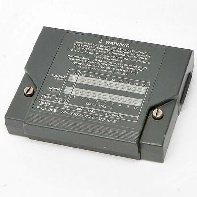 Fluke Universal Input Module 814210 For 26xx 2645 Data Acquisition Voltage