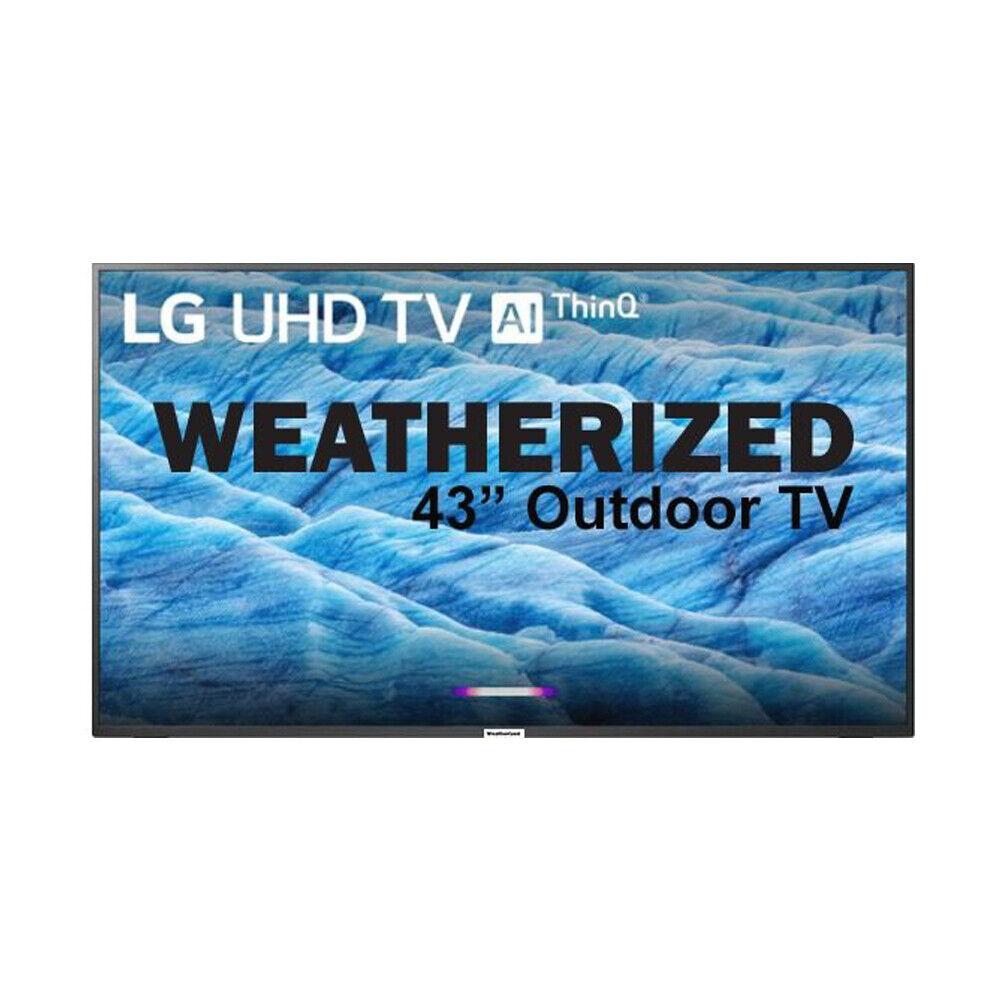 "Outdoor TV 43"" Weatherized LG 4K Smart Weatherproof Televisi"