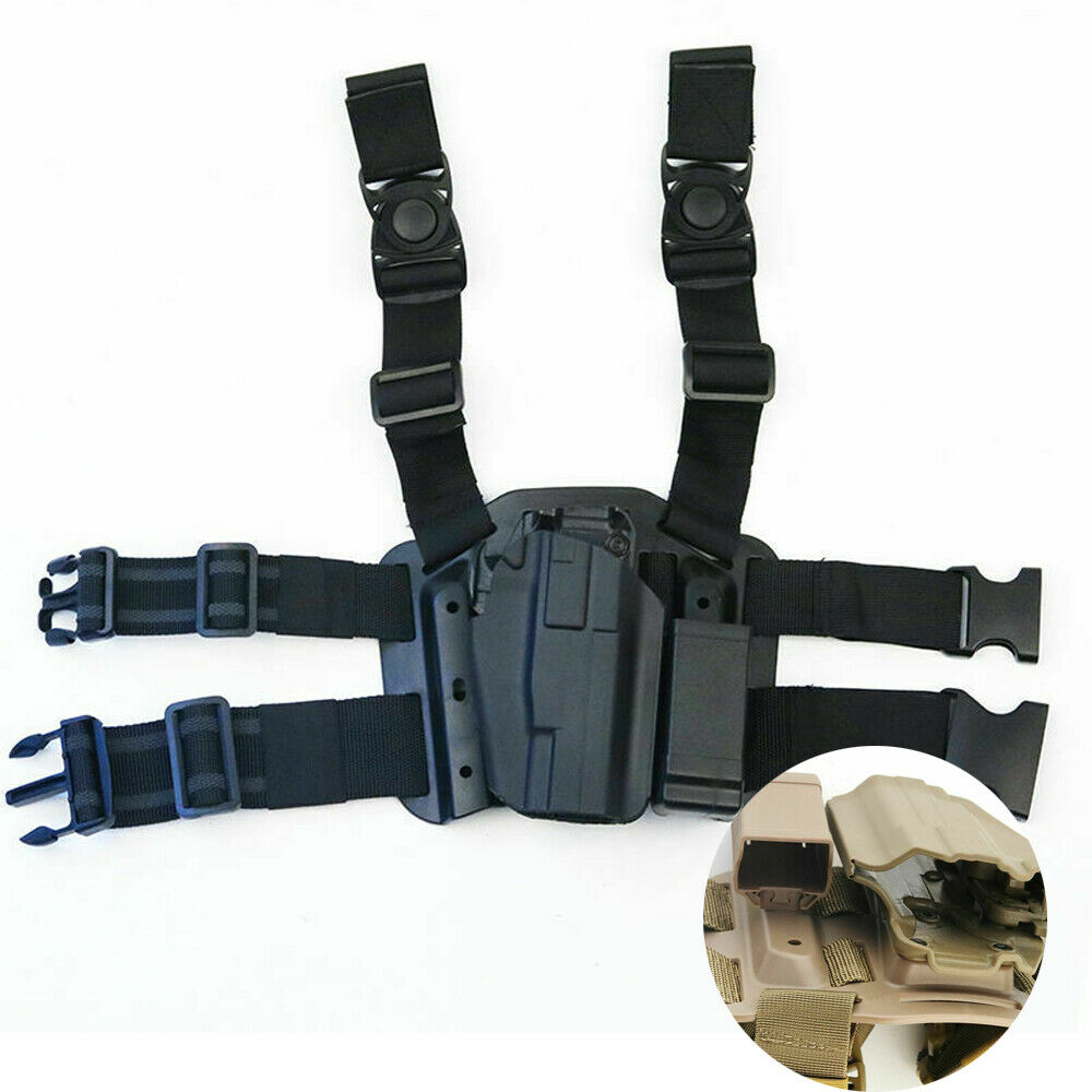 Drop Leg Holster For Glock H&K S&W Pistol Right Hand Pouch U