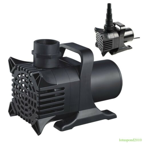 Fish Pond Pump Water Fountain Waterfall Pump ...