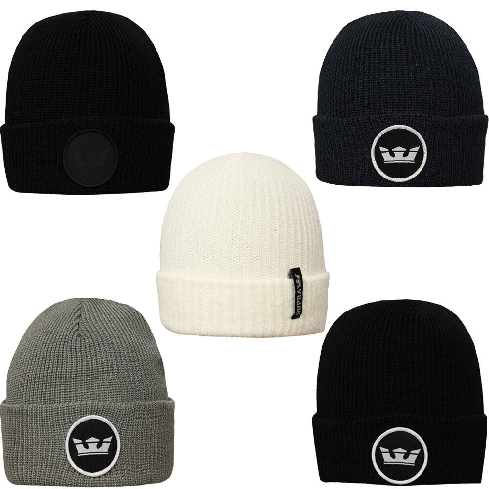 Details about Supra Icon Beanies Pull On Beanie Hat Hats Mens 75826aeedc46
