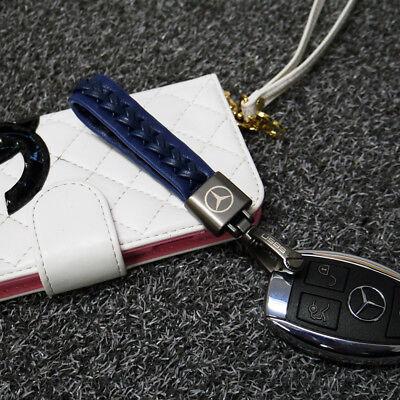 Men Fashion Leather Strap Alloy Keyring Keychain Key Chain Gift RR6 04