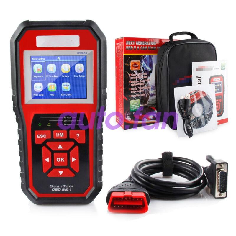 Car EOBD OBD2 OBDII Scanner Diagnostic Live Data Code Reader Check Engine KW85