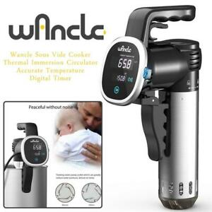NEW Wancle Sous Vide Cooker, Thermal Immersion Circulator, Accurate Temperature Digital Timer, Ultra-Quiet, 850 Watts...