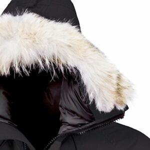 canada goose homme fourrure blanche