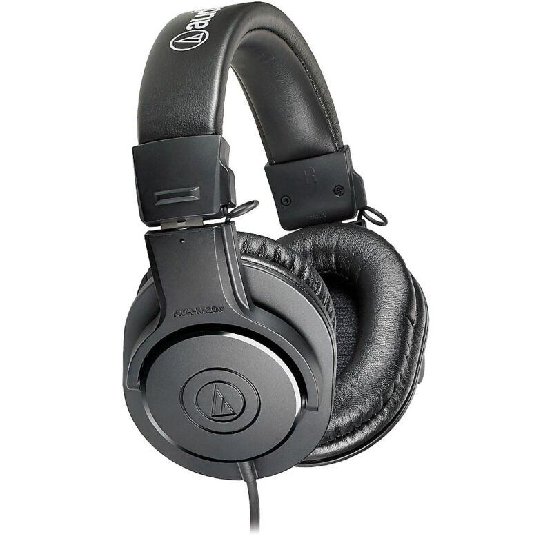 Audio-Technica ATH-M20x Monitor Headphones Black AUD ATHM20X