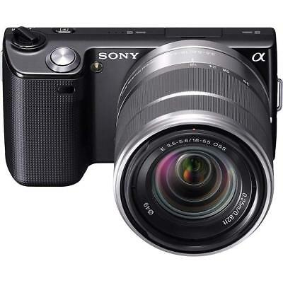 Sony Alpha NEX5 Digital Camera Black 18-55mm Interchangeable Lens