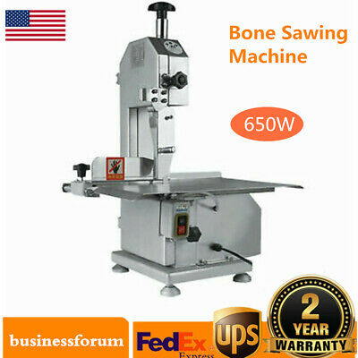 Commercial Electric Meat Bone Cutter Sawing Machine Trotters Bones Cutting Usa