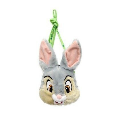 With Thumper stuffed coin case Pass Case reel Tokyo Disney Resort Limited F/S
