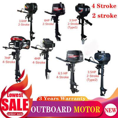 Hangkai 3.5466.57hp Outboard Motor Boat Engine 24 Stroke Water Air Cooling