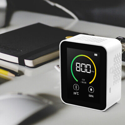 Co2 Sensor Monitor Gas Concentration Content Air Concentration Tester Analyzer