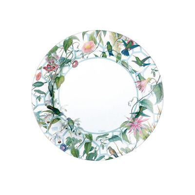 8 PK CASPARI CHATSWORTH HUMMINGBIRD TRELLIS SALAD - DESSERT PARTY PAPER PLATES ()