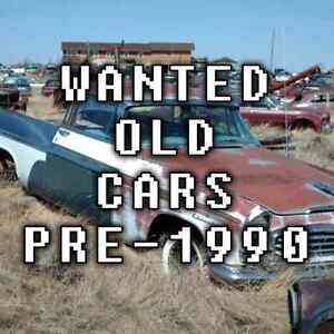 WANTED: Pre-1990 cars that are damaged, rusty or abandoned Capalaba Brisbane South East Preview